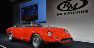 01 ferrari 275 nart spider rm 1 Una mirada más cercana al Ferrari 275 GTB / 4 NART Spider de 1967 de $ 27,5 millones