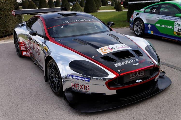 1280px Blancpain Endurance Series Aston Martin DBRS9 001 The history and evolution of the Aston Martin DB9