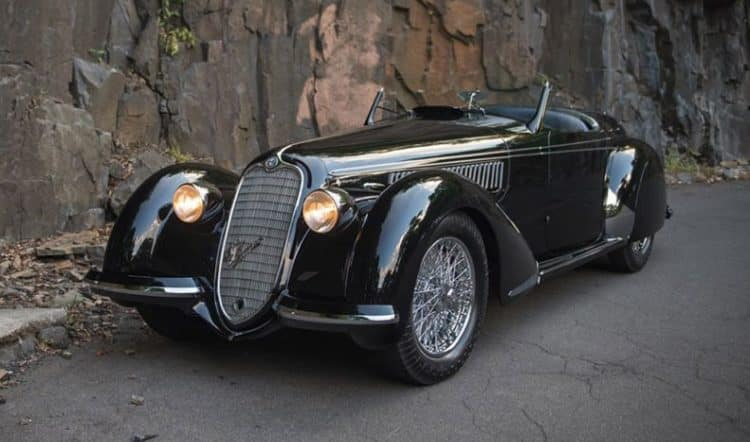 1618270071 839 Alfa Romeo 8c Lungo Spider 5 best special edition Alfa Romeo car models of all time