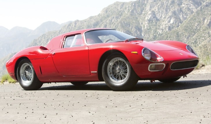 161 9809484 71 1964 Ferrari 250 LM Los 20 coches más caros del mundo a partir de 2019