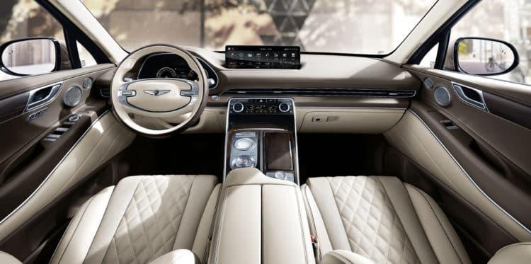 1745 Génesis 'primer SUV del GM80.  Revisión del 2021 Genesis GV80 RWD 2.5T Prestige