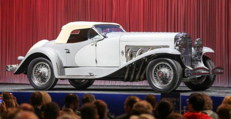 1935 Duesenberg SSJ Los 20 autos más caros del mundo a partir de 2019
