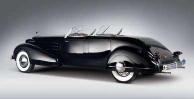1937 Cadillac Phaeton 5859 Los 10 mejores modelos de Cadillac de todos los tiempos