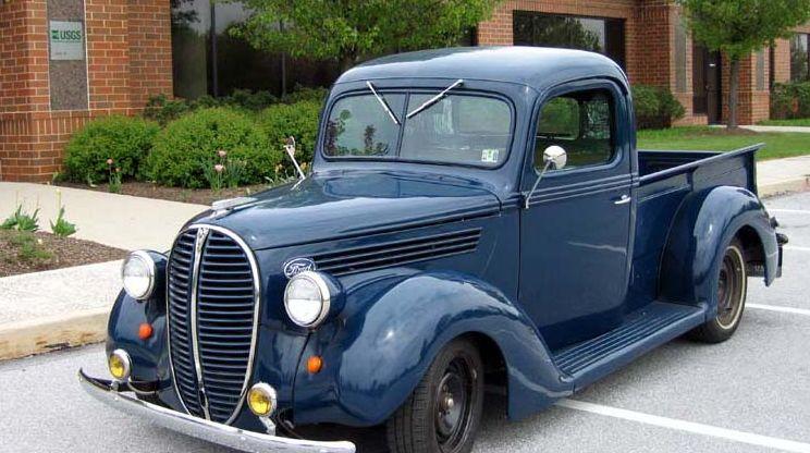 1938 Ford pickup truck Las 10 mejores camionetas pickup Ford de todos los tiempos