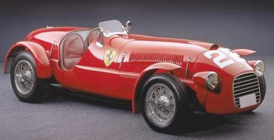 1948 Ferrari 166 S Una mirada más cercana al Ferrari 166 MM Barchetta de 1948