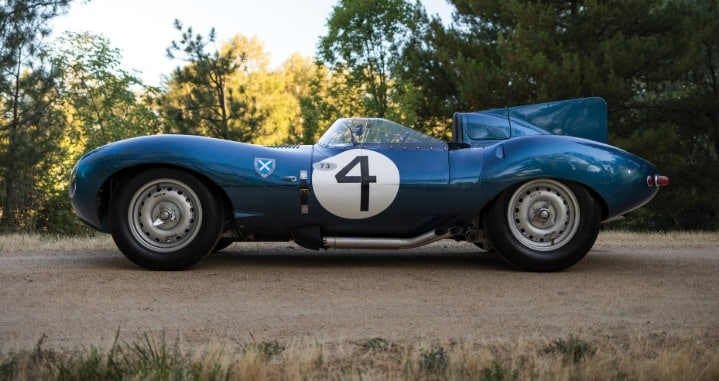 1955 Jaguar D Type XKD 501 Los 20 autos más caros del mundo a partir de 2019