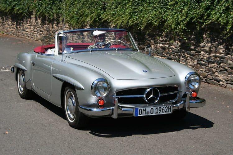 1955 Mercedes Benz 190SL Los 20 mejores modelos de Mercedes de todos los tiempos