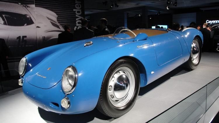 1955 Porsche 550 RS Los 10 autos más caros que tiene Jerry Seinfeld