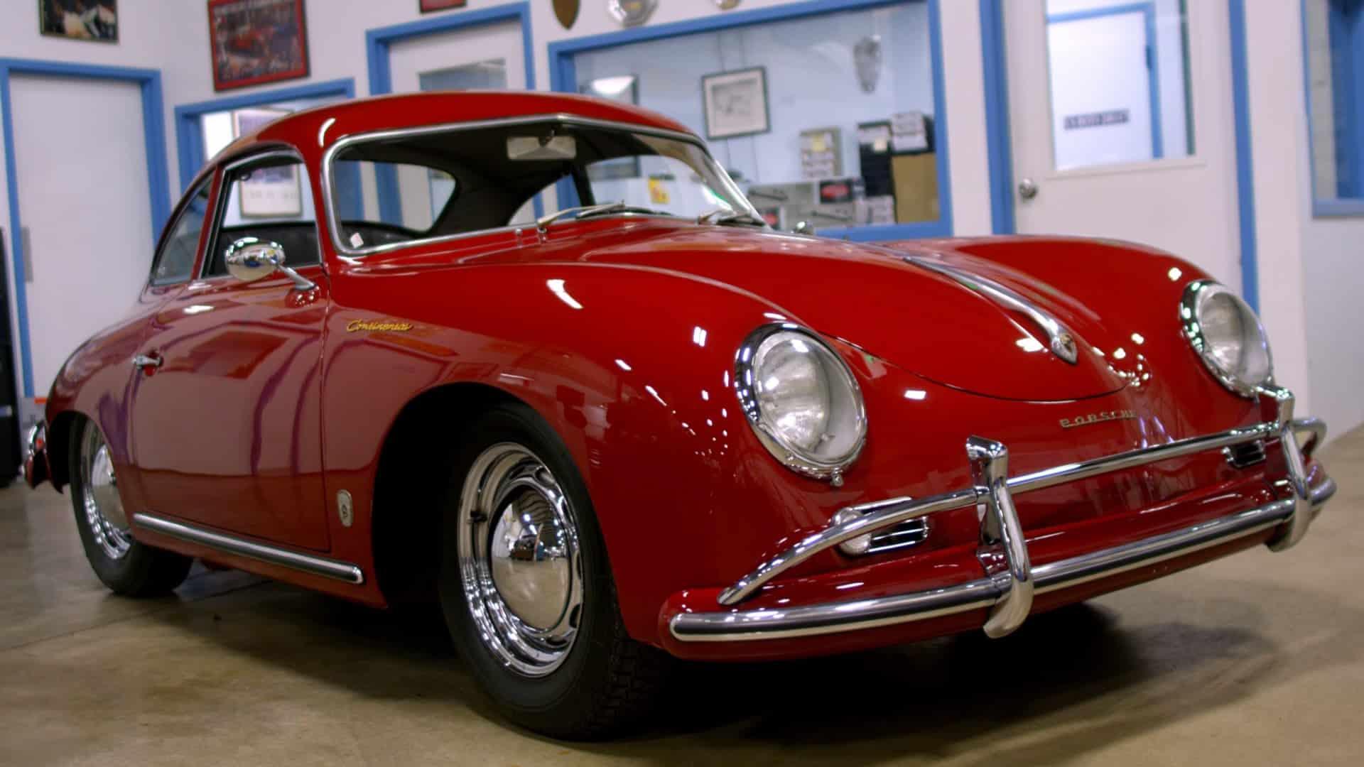 1955 Historia y evolución del Porsche 356