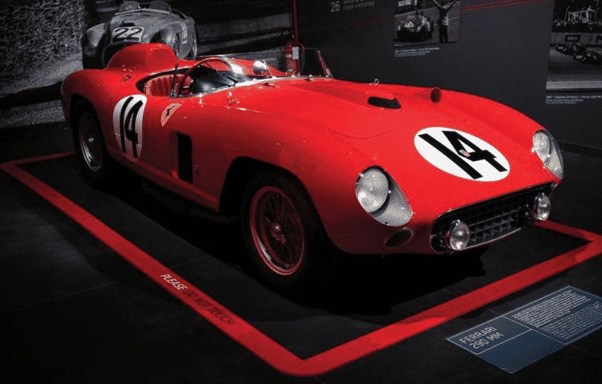 1956 Ferrari 290 MM Una mirada más cercana al Ferrari 290 MM 1956 de 29,1 millones de dólares