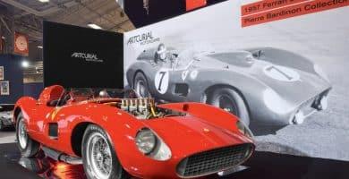 1957 Ferrari 335 S Spider Scaglietti 1024x683 Una mirada más cercana al Ferrari 335 S Spider Scaglietti de 1957