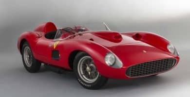 1957 Ferrari 335 S Spider Scaglietti Los 20 Ferrari más caros jamás vendidos