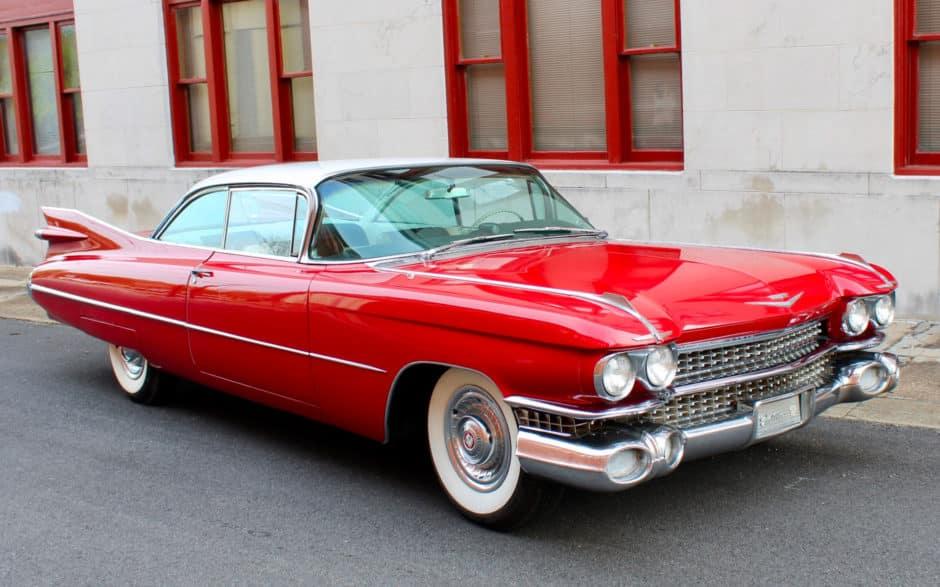 1959 Cadillac DeVille Los 20 mejores modelos de Cadillac DeVille de todos los tiempos