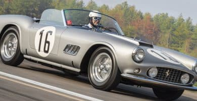1959 Ferrari 250 GT LWB Una mirada más cercana al Ferrari 250 GT LWB California Spider Competizione de 1959