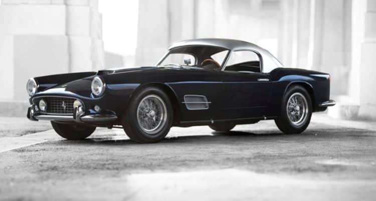 1959 Ferrari 250 GT LWB California Spider Los 20 autos más caros del mundo a partir de 2019