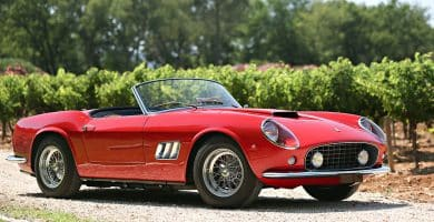 1961 ferrari 250 gt swb california spider Una mirada más cercana al Ferrari 250 GT California SWB Spider de 1961