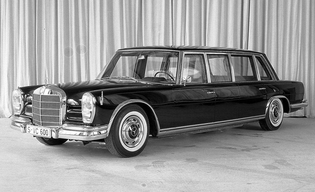 1964 1981 mercedes benz 600 pullman limousine photo 317065 s 1280x782 Historia y concepción del Mercedes Pullman