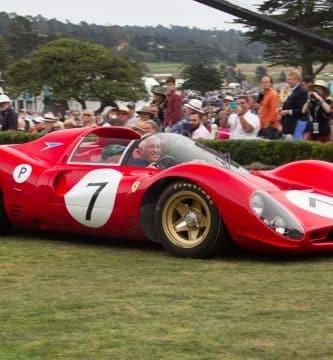 1967 Ferrari 330 P4 Berlinetta Una mirada más cercana al Ferrari 330 P4 Berlinetta de 1967