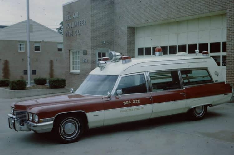 1972 Ambulancia Miller Meteor Cadillac