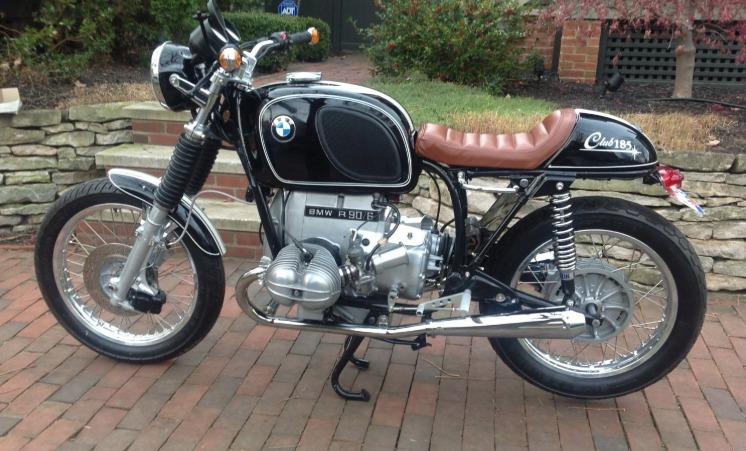 1975 BMW R90S Los cinco mejores modelos de motocicletas BMW de los años 70