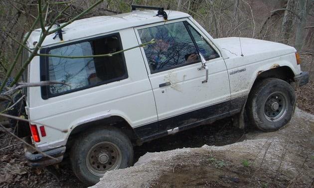 1985 Mitsubishi Montero