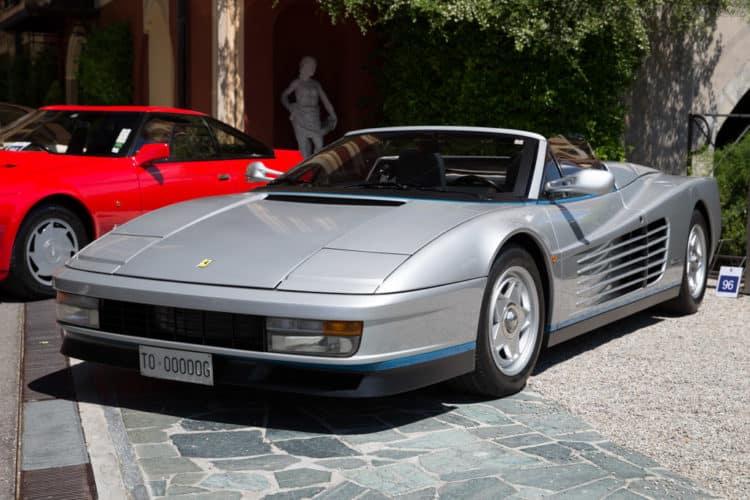 1986 Ferrari Testarossa Spider convertible