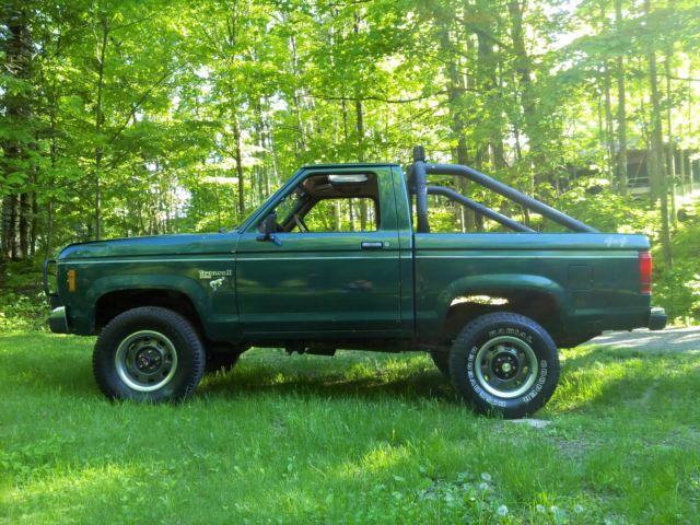 1986 Ford Ranger Pickup Cab Chasis