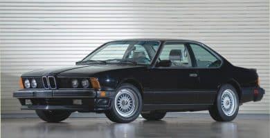 1987 BMW M61 La historia y evolución del BMW M6