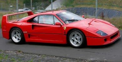 1987 Ferrari F40 2 La historia y evolución del Ferrari F40