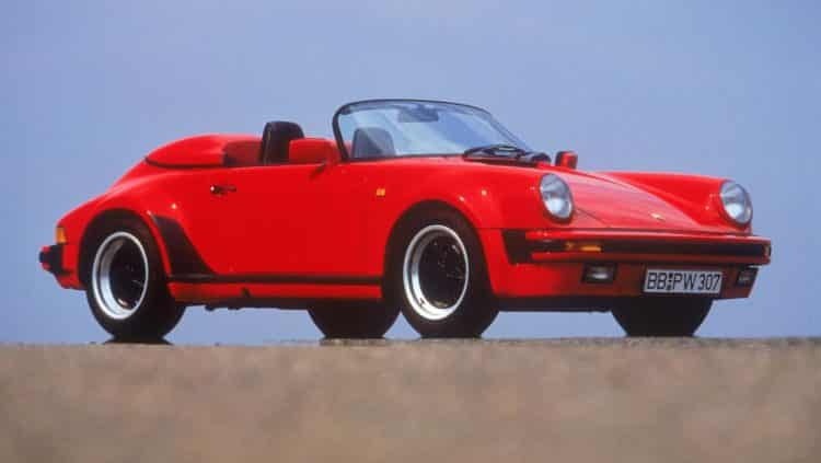 1988 Porsche 231 PS 911 Speedster