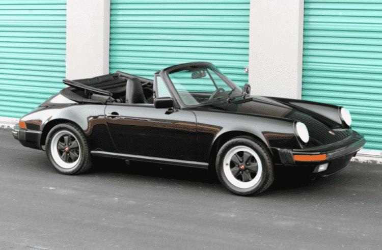 1988 Porsche 911 convertible