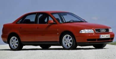 1994 audi a4 sedan 29703 e1543856911154 Historia y evolución del Audi A4