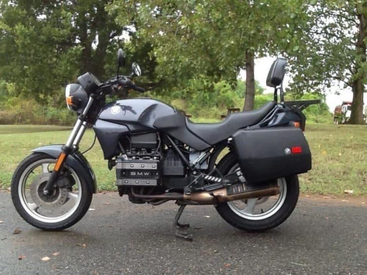 1995 BMW K75S Las cinco mejores motocicletas BMW de los 90