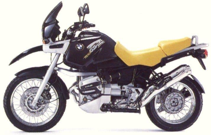 1995 BMW R1100GS Las cinco mejores motocicletas BMW de los 90