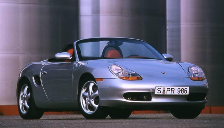 1996 Porsche Boxster Top 5 modelos de Porsche Boxster de todos los tiempos
