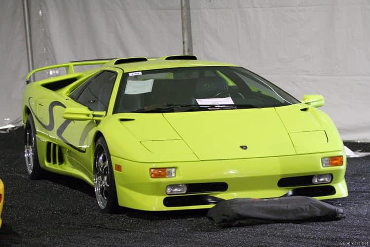 1996 Lamborghini DiabloSV1 La historia y evolución del Lamborghini Diablo