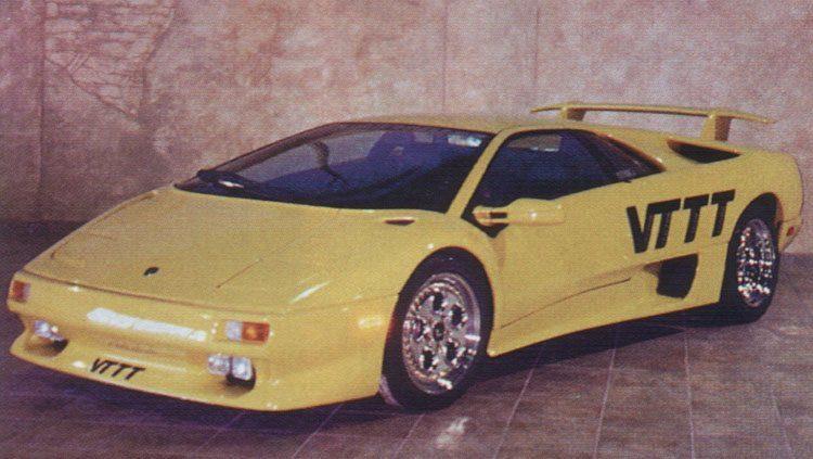 1996 Lamborghini DiabloVTTT1 La historia y evolución del Lamborghini Diablo
