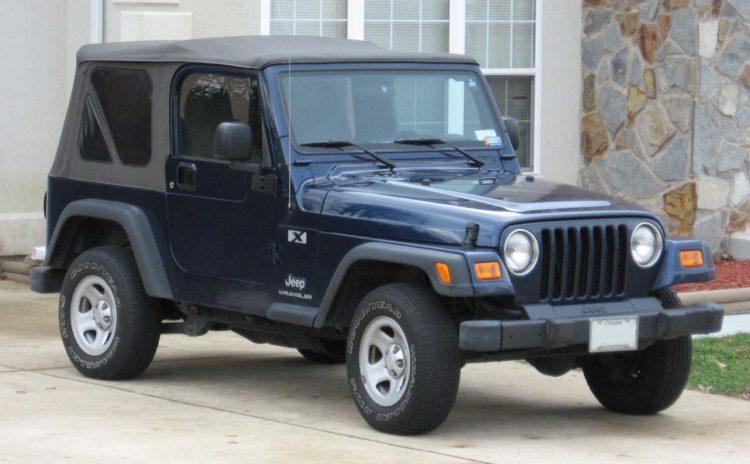 1997 modelo Wrangler TJ