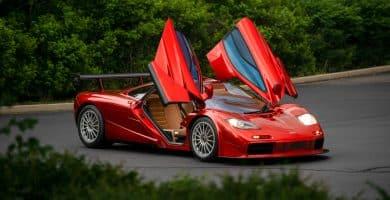 1998 McLaren F1 LM Los 5 modelos McLaren más caros de todos los tiempos