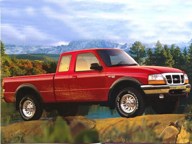 1999 Ford Ranger camioneta 4WD