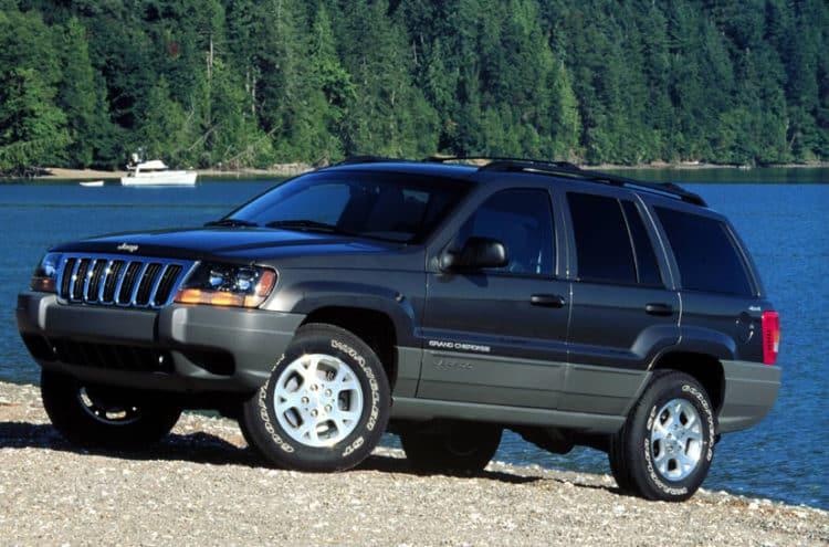1999 Grand Cherokee Los cinco mejores modelos de Jeep Grand Cherokee de todos los tiempos