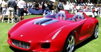 2000 Ferrari Rossa by Pininfarina Una mirada más cercana al Ferrari Rossa 2000 de Pininfarina