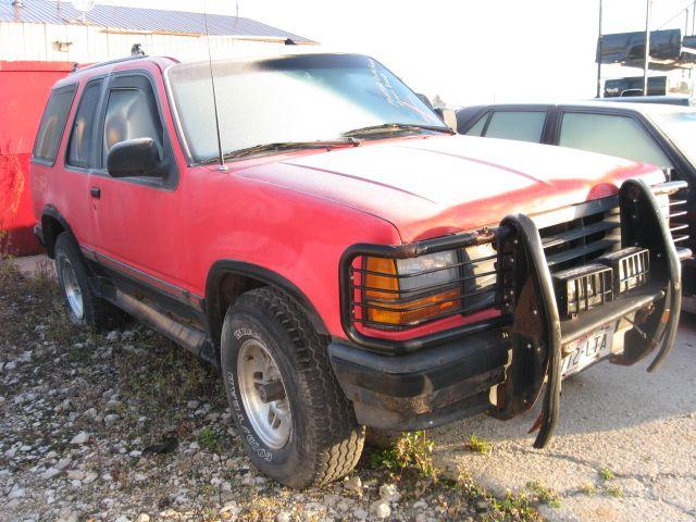 2001 Ford Explorer USPS Eléctrico