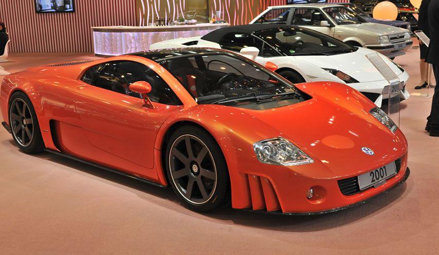 2001 Volkswagen W12 Nardo Concept Los cinco mejores modelos de Volkswagen de edición especial de todos los tiempos