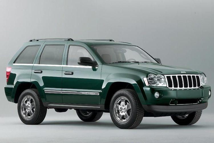 2005 Jeep Grand Cherokee Los cinco mejores modelos de Jeep Grand Cherokee de todos los tiempos