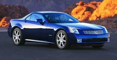 2006 Cadillac XLR La historia y evolución del Cadillac XLR