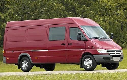 2006 Mercedes-Benz Sprinter Cargo Van 2500