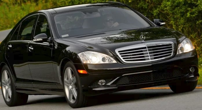 2007 Mercedes S550 History and evolution of the Mercedes S550