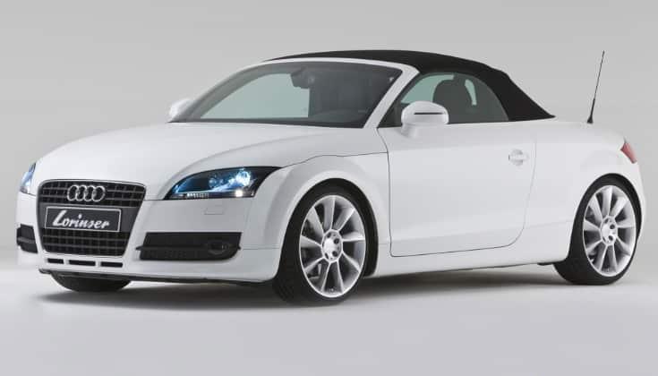 2008 Audi TT Roadster Convertible Los cinco modelos convertibles de Audi de todos los tiempos