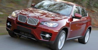 2009 bmw x6 xdrive50i instrumented test car and driver photo 285771 s original Historia y evolución del BMW X6